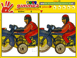 Game Gimme 5 Toys