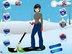 Ski Girl Dress Up