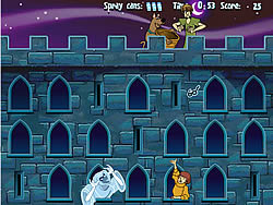 Scooby Doo Castle Hassle spel