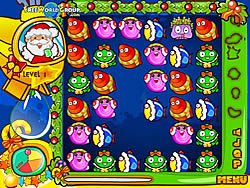 Santa blob game