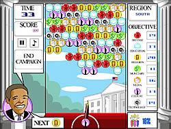 Spielen Sie das Gratis-Spiel  Obama Bubbles