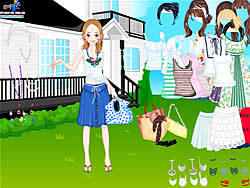 Dress Up Livia game