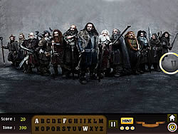 Game The Hobbit - Find the Alphabet