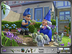 Gnomeo and Juliet - Hidden Objects game