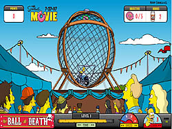 Game Simpsons The Ball of Death