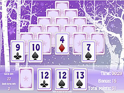 Game Winter Solitaire Matcher