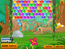 Game Jungle Bubble