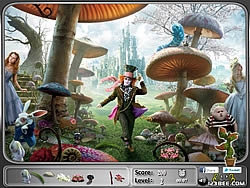 Alice in Wonderland - Hidden Objects