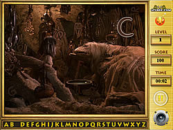 Game The Dark Crystal Find the Alphabets