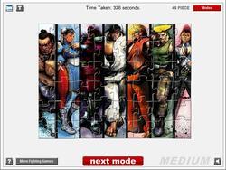 Street Fighter IV Jigsaw