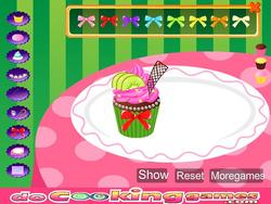 Kids Sweet Colorful Cupcake