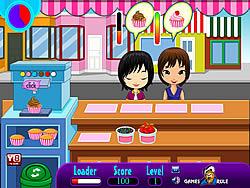 無料ゲームのCupcake Shopをプレイ