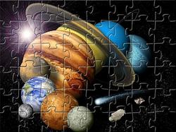 Game Planets Jigsaw