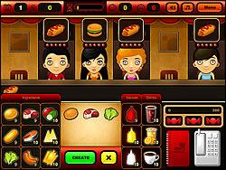 無料ゲームのFastfood Barをプレイ