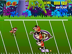 Taz Football Frenzy game