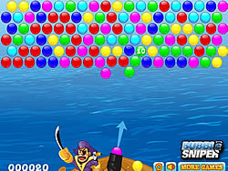 Juega al juego gratis Pirates Bubbles