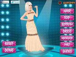 Peppy Lady Gaga Dressup game