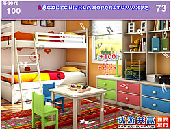 Game Kids Colorful Room Hidden Alphabets