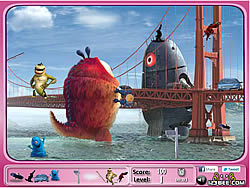Monsters vs Aliens Hidden Objects
