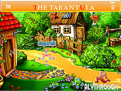 Tarantula Village Farm House Hidden Alphabets