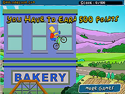 Gioca gratuitamente a The Simpsons BMX