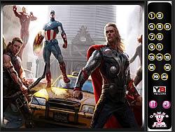 Hidden Numbers-Avengers