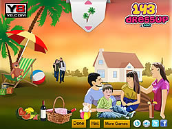 Juega al juego gratis Family Picnic Decor In Florida