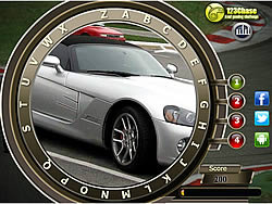 Game Fast Cars Hidden Alphabets