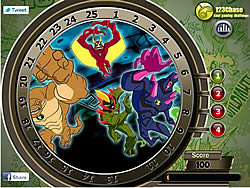 Ben10 Hidden Numbers game
