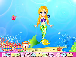無料ゲームのPretty Little Mermaid Princessをプレイ
