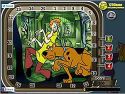 Scooby Doo Hidden Numbers game