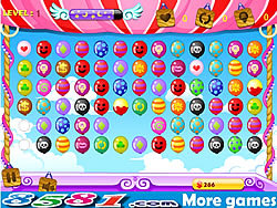 Colorful Balloons Link game