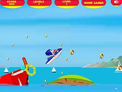 Permainan Super Sonic Ski