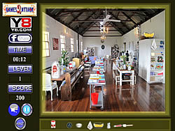 Cooking Hall Hidden Object