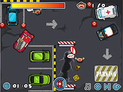 Fire Truck Parking jeu
