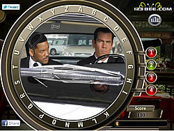 Game Men in Black 3 - Find the Alphabets