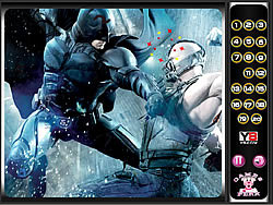 Hidden Numbers-Dark Knight Rises game