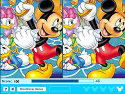 Mickey Mouse - Find 5 Difference