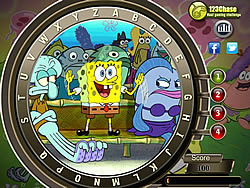 Spongebob Squarepants Hidden Alphabets
