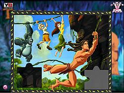 Juego Tarzan Puzzle