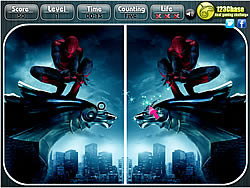 שחקו במשחק בחינם The Amazing Spiderman - Spot the Difference