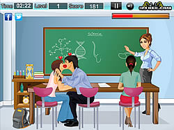 Classroom Kissing Game game