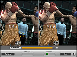 Boxing Fighting Difference game