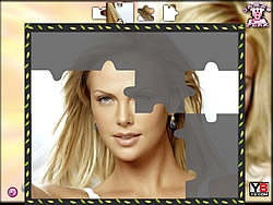 Game Charlize Theron Puzzle