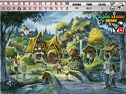 Game Village Hidden Alphabets Game