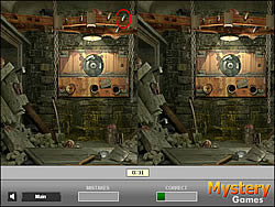 Mystery Treasure - Find the Differences game