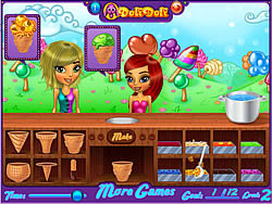 Game Doli Ice Cream Frenzy