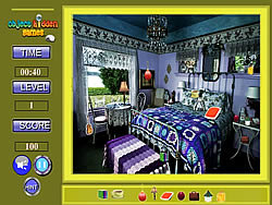 Lavender Room Hidden Objects game