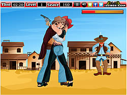 Game The Kissing Cowboy
