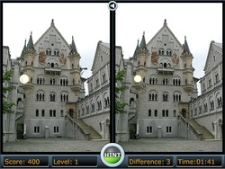jeu Spot the Difference Castle